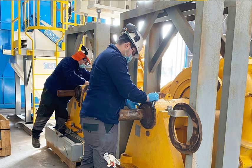 bombas centrifugas para minería